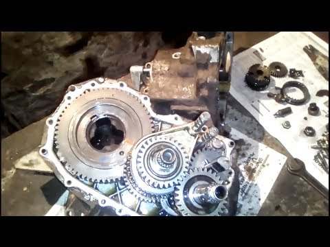 Фото к видео: Renault 11. Ремонт КПП JB1.