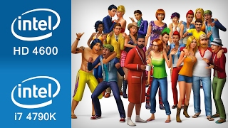 The Sims 4 Gameplay Intel HD 4600