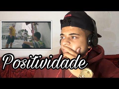 Gaab - Positividade (Video Clipe) | REAÇÃO