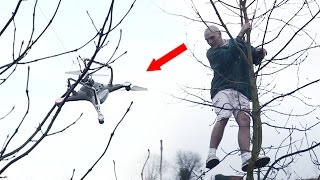 DESTROYING A $2000 DRONE..