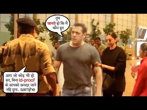 All Bollywood Celebrities Denyed ENTRY By Security@Mumbai Airport-Salman,Deepika,SaraAliKhan,Jhanvi