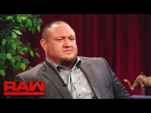 Samoa Joe boasts about reinjuring Seth Rollins: Raw, Feb. 13