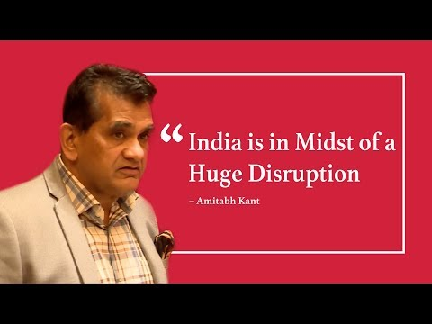 Amitabh Kant Believes India is the Midst of a Huge Disruption Led by EVs & MSMEs