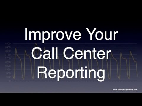 Call Center Reporting - Improve the Understanding of Your Data