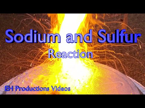 Sodium And Sulfur Reaction