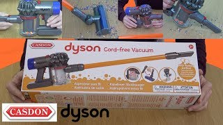 Dyson V8 Cord Free Toy Vacuum By Casdon. Unboxing & Demonstration