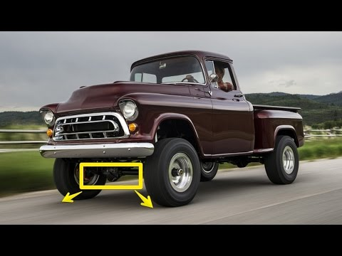 Legacy Chevrolet NAPCO 4x4 Conversion First Drive - The ...