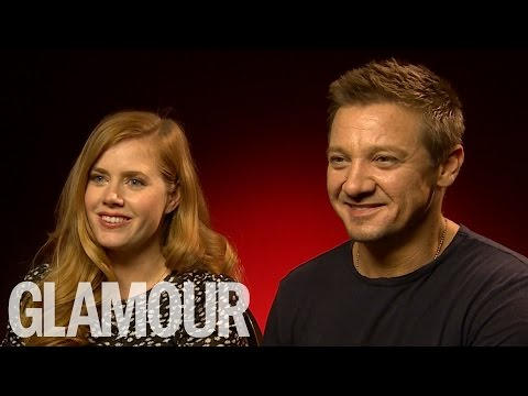 Amy Adams and Jeremy Renner Get Schooled in Welsh   Glamour UK