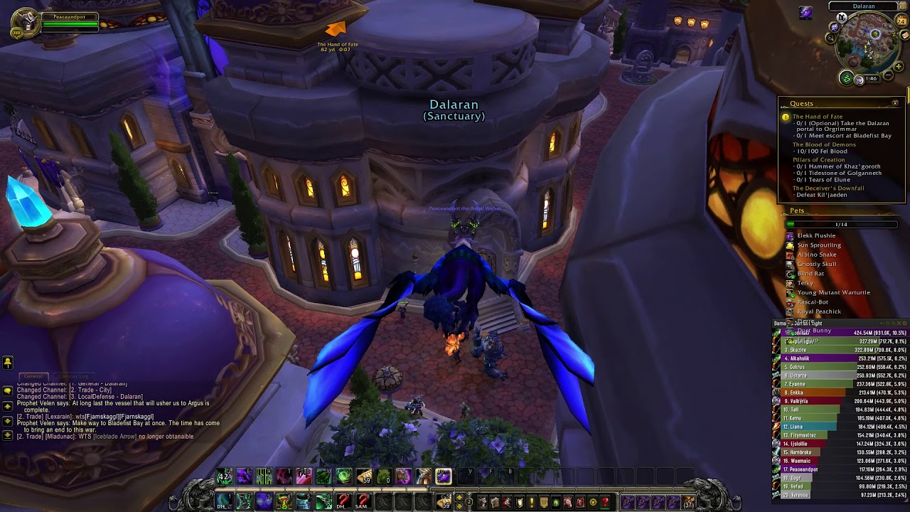 Wow How To Start Argus Questline With Alt Char As Soon As Reach