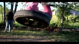 Build A Tire Swing