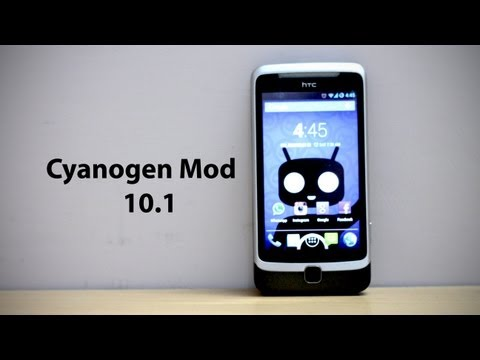 Android Jelly Bean on HTC Desire Z [CyanogenMod 10.1]