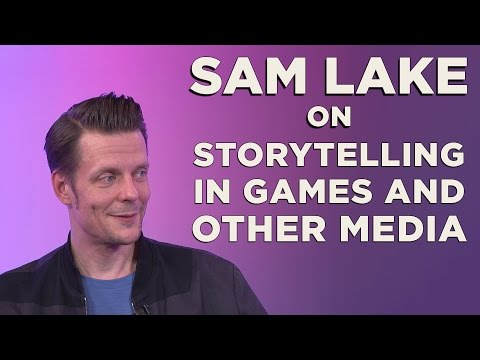 Sam Lake INTERVIEW: The Intersection of Narrative in Games,