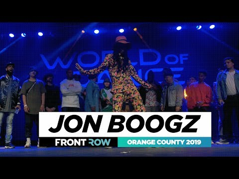 Jon Boogz | All Styles | FRONTROW | World of Dance Orange County 2019 | #WODOC19