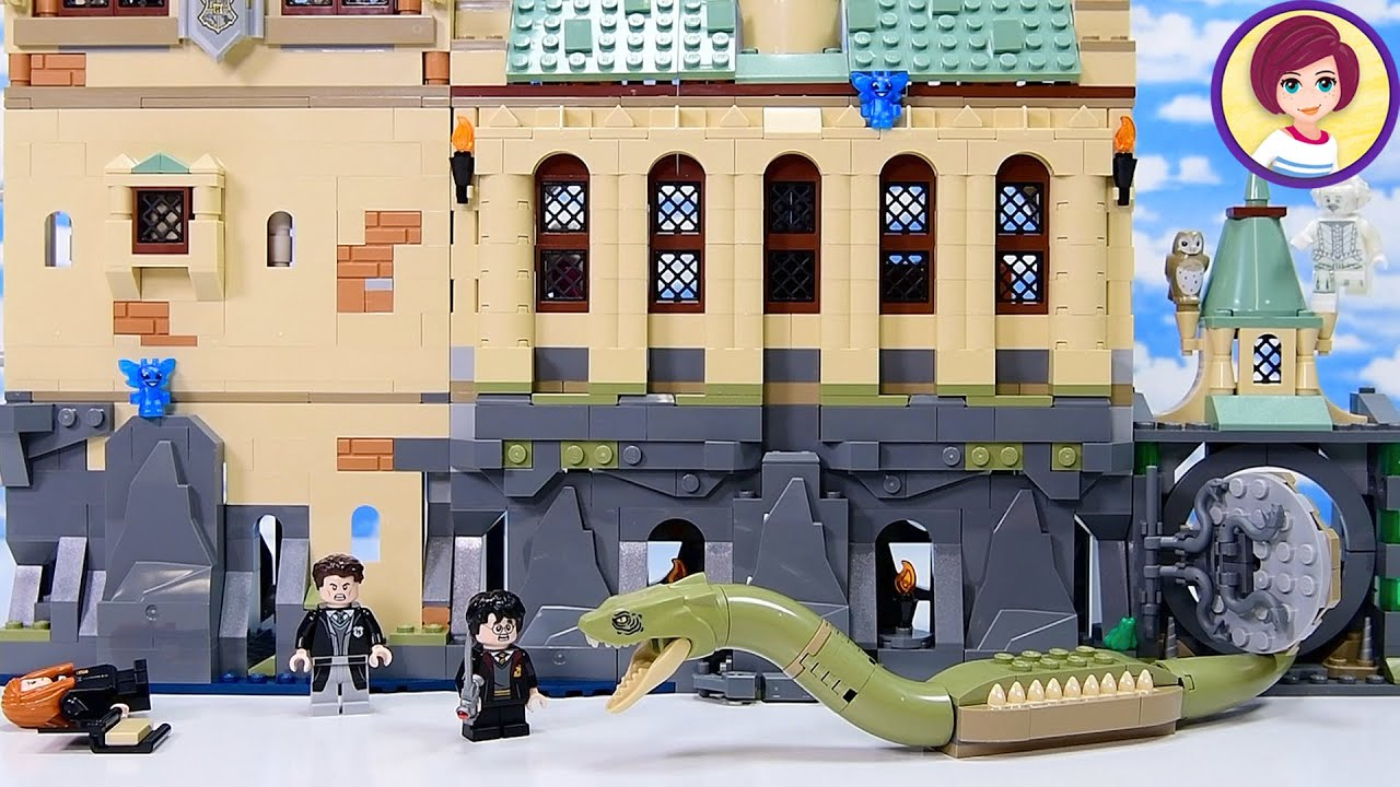 Download Lego Harry Potter Chamber of Secrets Part 2 - Building the Dungeons 🐍