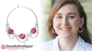 How to Use Bead Bumpers on a Beadable Earring Hoop