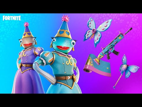 New PRINCESS FISHSTICK Skin!! (Fortnite Battle Royale)