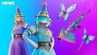 New PRINCESS FISH Skin!! Solo Cash Cup! (Fortnite Battle Royale)