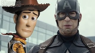 Disney / Pixar's 'Captain America: Civil War' (ORIGINAL) Mash-Up Trailer Parody