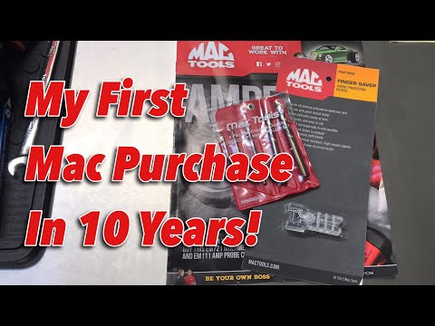 First Mac Tools Purchase In Ten Years!!