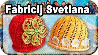 Шапочка весенняя, вязание крючком для начинающих, crochet.