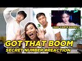 SECRET NUMBER 시크릿넘버 - GOT THAT BOOM #REACTION