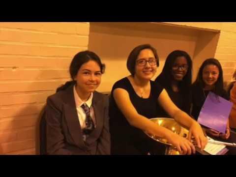 Autumn Leaves, 8th grade quartet, Roland Park Elementary Middle School talent show