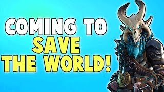 NEW Mythic Outlander! RAGNAROK The Dark Viking! | Fortnite Save The World News (Patch v5.20)