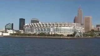 Cleveland Ohio on the Goodtime 3-Viewing Cleveland Browns Stadium.