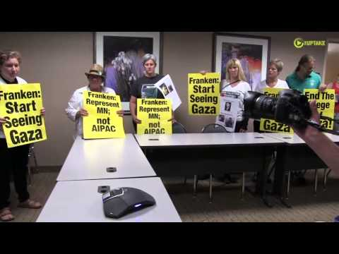 Palestine Supporters Confront Sen Franken In Tense Phone Call