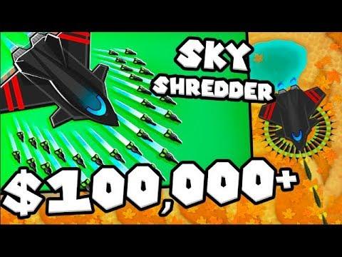 Bloons TD 6 - The Sky Shredder - Tier 5 Monkey ACE   JeromeASF