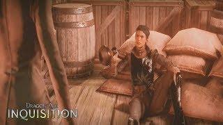 (DAI) Dragon Age Inquisition I Cassandra Gets Drunk Cutscene I Cinematic