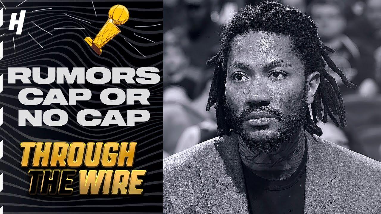 NBA Rumors Cap or No Cap | Through The Wire Podcast