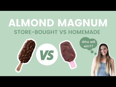 homemade-vs.-store-bought:-vegan-almond-magnum-//-4-ingredient-recipe-taste-test