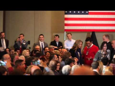 Marco Rubio Is Interrupted By A Heckler