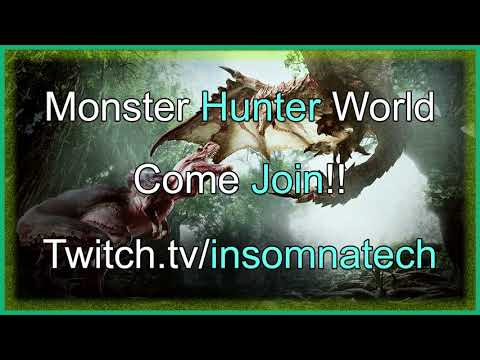 Let's Play Monster Hunter World | Beta Come Join the Team