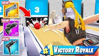 BOWLING For YOUR Loot in Fortnite!