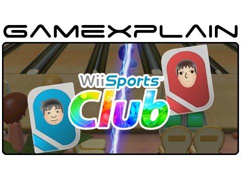 Wii Sports Club: Online Bowling - GX vs. NintenDaan Gameplay (Wii U Video Preview)
