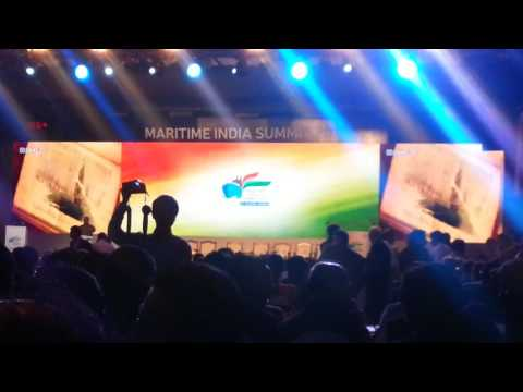 Maritime India Summit 2016