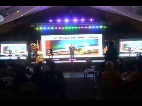 Rotary International District 3790 Convention - Boy Abunda (closing)