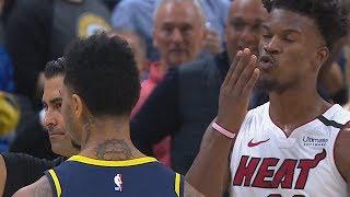 Warren Ejected! Jimmy Butler Blows Kiss Goodbye! 2019-20 NBA Season