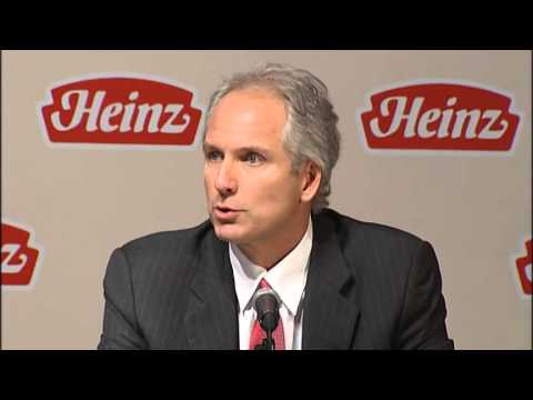 HJ Heinz Company - RAW Press Conference Re: Merger - 3G Capital - Berkshire Hathaway