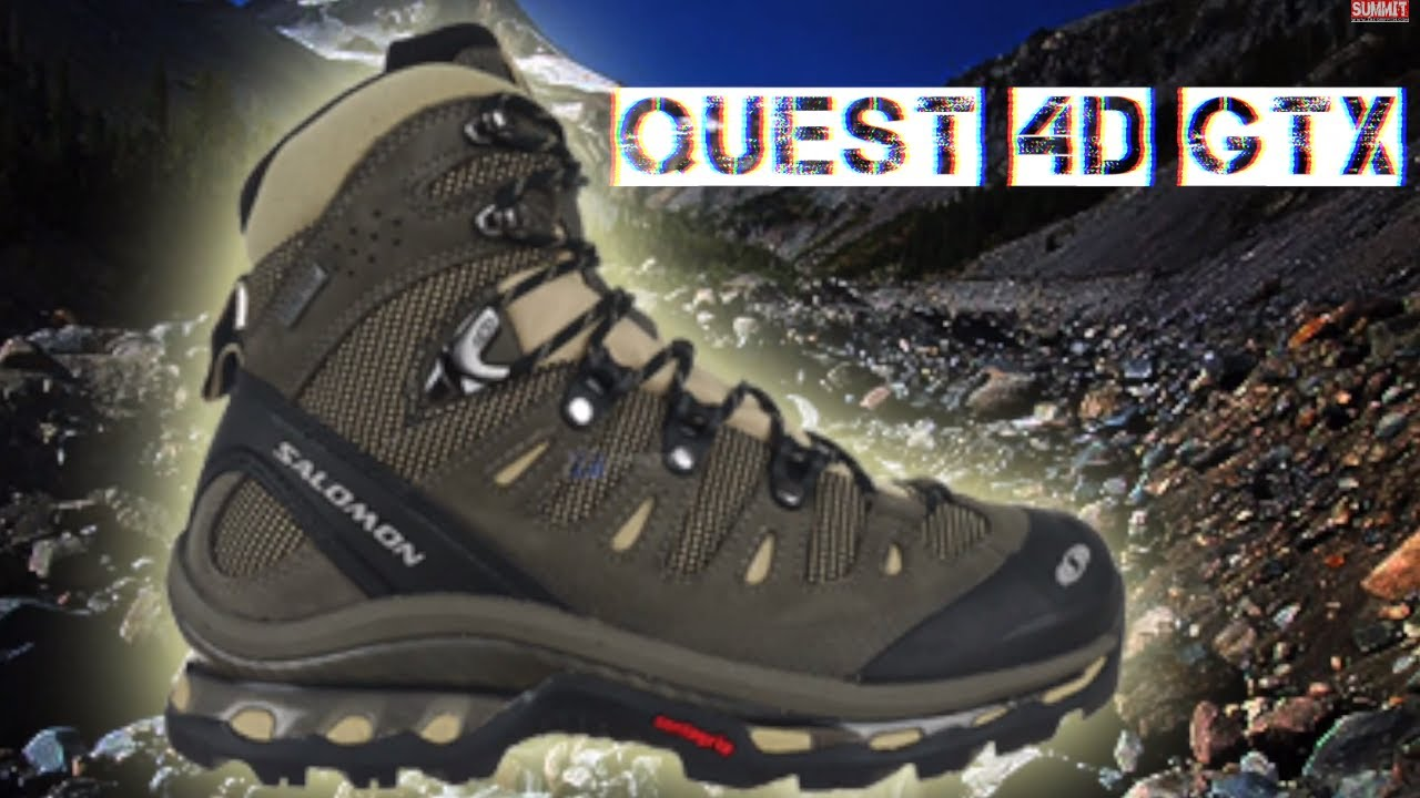nike delta force élevée - ZAC GRIFFITH SALOMON QUEST 4D GTX REVIEW - YouTube