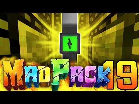 "Minecraft MAD PACK 2: ""OVER 9000 POWER!!"" Episode 19 (Massive Upgrades, Level UP, Presents!)"