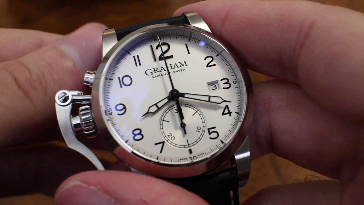 gears on graham ref hands watch vintage gearopen watches chronofighter