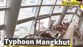 Typhoon Mangkhut Hits Hong Kong and South China