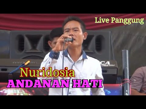 ANDANAN HATI Live Bersama NURIDOSIA Arr Musik TAM SANJAYA