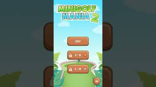 MiniGolf Mania 2 [Touchscreen Java Games]