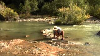 How To Find Gold #5 - How To Set Up a Gold Sluice