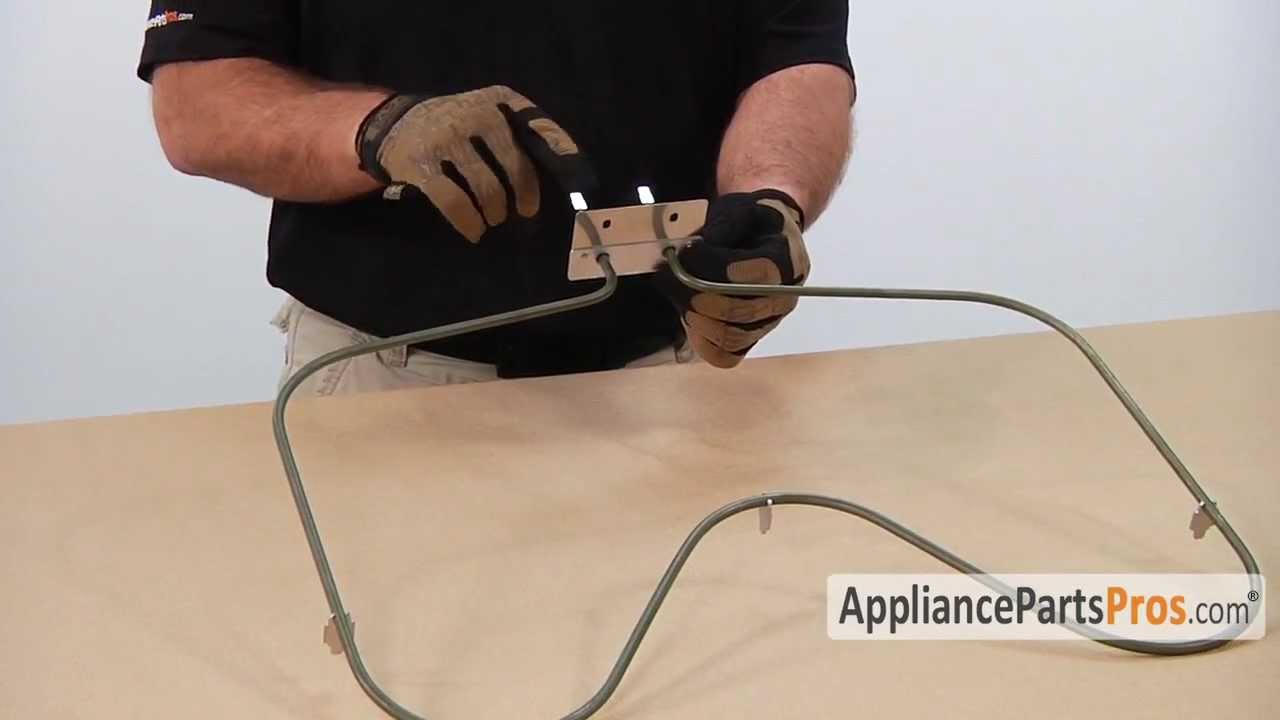 hight resolution of oven bake element how to replace appliancepartspros youtube wiring a oven heating element wiring a oven heating element