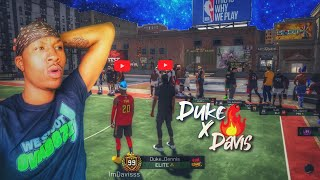 Duke Dennis shows ImDavisss his 99 overall Stretch Big! The UNDEFEATED DUO returns! Best Build 2k19